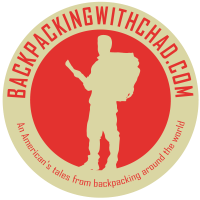 Logo for backpackingwithchad.com