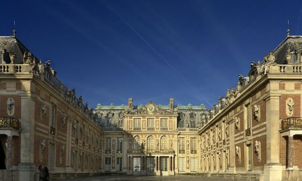 The Versailles Palace near Paris in France