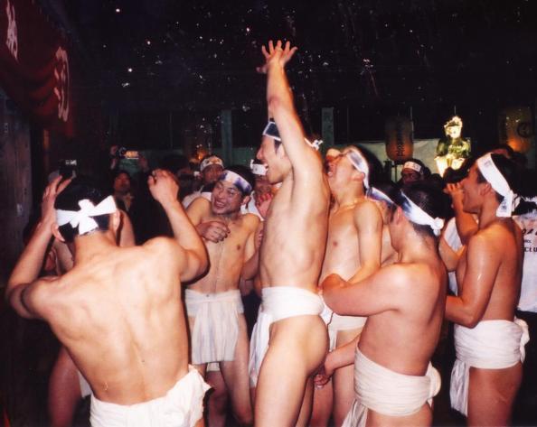 The Naked Festval in Japan