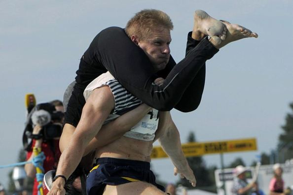 Wife carrying championships, Finland, bizarre, weird festivals around the world