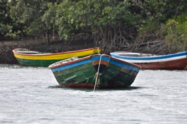 Old boat in  Jericoacoara, Brazil
