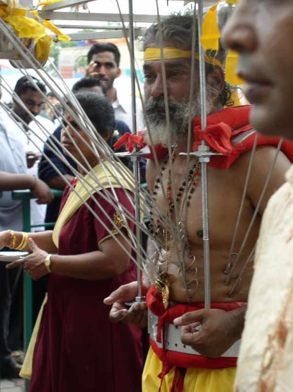 The festival of Thaipusam, India
