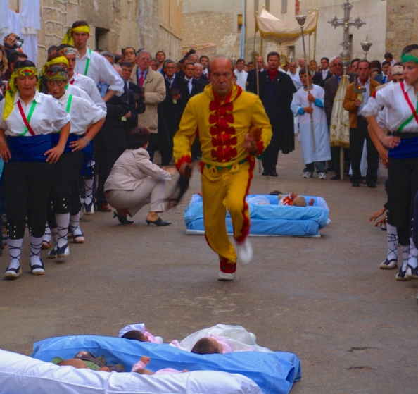 El Colacho festival in spain