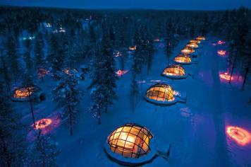 Underground hotel in Finland