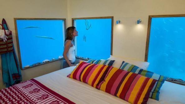 Stay under the sea at The Manta Resort, Zanzibar