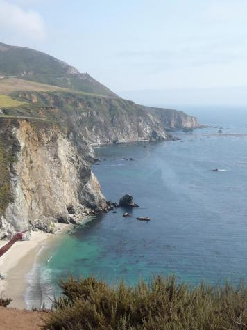California Coastline, Big Sur, Valentines Day retreat