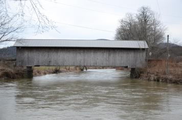 The famous Covered Bridges in Vermont
