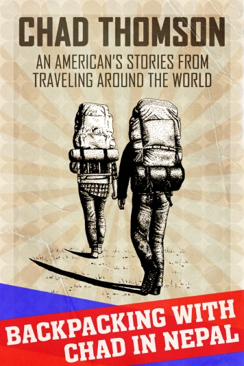 Cover of Nepal travel ebook