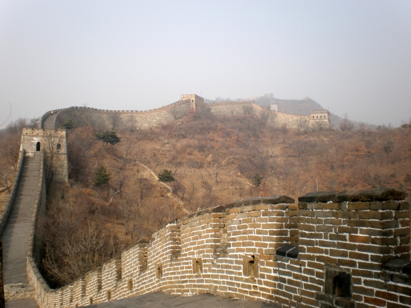 Great Wall north of Beijing, China