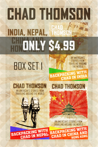 Bargain travel ebook set India Nepal China Hong Kong